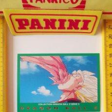 Trading Cards: CROMO CARTA DRAGON BALL Z SERIE 5 VERDE 55 VEGETTO. Lote 219243178
