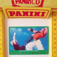 Trading Cards: CROMO CARTA DRAGON BALL Z SERIE 5 VERDE 52 VEGETTO SUPER BOO. Lote 219243187
