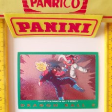 Trading Cards: CROMO CARTA DRAGON BALL Z SERIE 5 VERDE 49 SUPER BOO VEGETTO. Lote 219243205