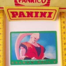Trading Cards: CROMO CARTA DRAGON BALL Z SERIE 5 VERDE 41 SUPER BOO. Lote 219243238