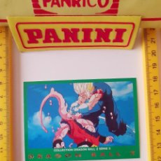 Trading Cards: CROMO CARTA DRAGON BALL Z SERIE 5 VERDE 34 VEGETTO SUPER BOO. Lote 219243266