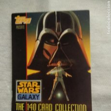 Trading Cards: STAR WARS GALAXY # 1 TOPPS 1993 SERIE 1 TRADING CARDS. Lote 251380635