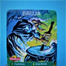 Trading Cards: CARTA CROMO BRUJA DEL JUEGO HELIOS MÁGICO. Lote 220690260
