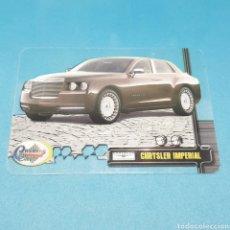 Trading Cards: (ARN.5) LAMINACARD MUNDICROMO. CRYSTAL CARS - N°089 CHRYSLER IMPERIAL. Lote 220798790