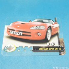 Trading Cards: (ARN.5) LAMINACARD MUNDICROMO. CRYSTAL CARS - N°132 CHRYSLER VIPER SRT-10. Lote 220798897