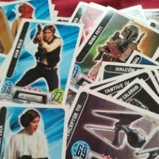 Trading Cards: SET CROMOS STAR WARS CON 74 CROMOS TRADING CARD GAME. Lote 221554488