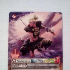 Trading Cards: CAZADORA - N° 209 - FANTASY RIDERS - PANINI 2019. Lote 221605995