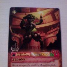 Trading Cards: ZAPADOR - N° 273 - FANTASY RIDERS - PANINI 2019. Lote 221607006