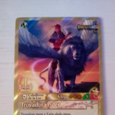 Trading Cards: TROVADORA RIDER - N° 297 - FANTASY RIDERS - PANINI 2019. Lote 221607333