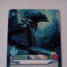 Trading Cards: NAGA - N° 311 - FANTASY RIDERS - PANINI 2019. Lote 221607577
