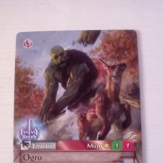 Trading Cards: OGRO - N° 367 - FANTASY RIDERS - PANINI 2019. Lote 221608446