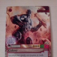Trading Cards: COLOSO - N° 384 - FANTASY RIDERS - PANINI 2019. Lote 221608970