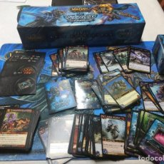 Trading Cards: WORLD OF WARCRAFT TCG ICECROWN EPIC COLLECTION CON MAS DE 200CARD. Lote 221609741