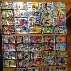 Trading Cards: 64 SOBRES ABIERTOS SIN CARTAS DRAGON BALL SUPER CARD GAME (DATA IC JCC GT KAI SET FULL TRADING). Lote 221616253