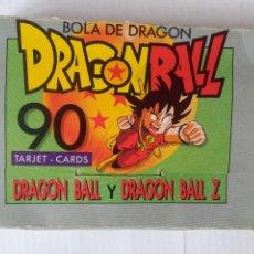 Trading Cards: COLECCION CASI COMPLETA DRAGON BALL 90 CARDS EDICIONES ESTE. INCLUYE CAJA Y 83 CARDS. Lote 221647835