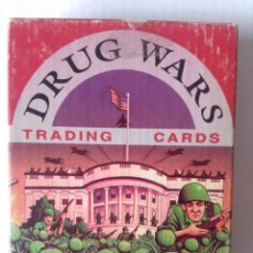 Trading Cards: DRUG WARS (TRADING CARDS) COMPLETA-SALIM YAQUB-PAUL BRANCATTO-BOB CALLAHAN-1991. Lote 221650867