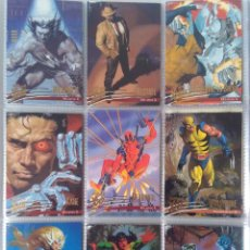 Trading Cards: LOTE 23 MARVEL FLEER ULTRA X-MEN TRADING CARDS ORIGINALES USA 1998. Lote 221655786