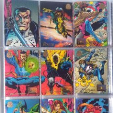 Trading Cards: LOTE 17 MARVEL UNIVERSE 1994 TRADING CARDS ORIGINALES USA. Lote 221671241