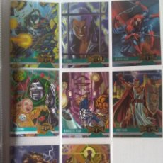 Trading Cards: LOTE 8 MARVEL METAL 1995 TRADING CARDS ORIGINALES USA. Lote 221671323