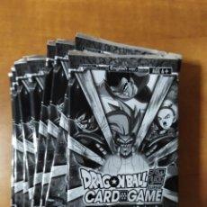 Trading Cards: 10 SOBRES CERRADOS DRAGON BALL SUPER CARD GAME PROMO 8 (DATA IC JCC GT KAI SET FULL TRADING PANINI). Lote 221919968