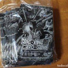 Trading Cards: 10 SOBRES CERRADOS DRAGON BALL SUPER CARD GAME PROMO 9 (DATA IC JCC GT KAI SET FULL TRADING PANINI). Lote 221920032