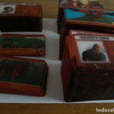 Trading Cards: LOTE DE 432 CARTAS DE LOS INCREIBLES EN ITALIANO EN EXCELENTE ESTADO (INCLUYE 56 SOBRES SIN ABRIR). Lote 221929512