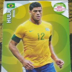 Trading Cards: CARD PANINI ADRENALYN XL WORLD CUP 2014 HULK BRASIL. Lote 222229522