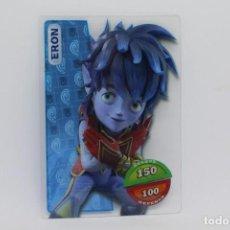 Trading Cards: GORMITI ACTION CARDS DE PANINI - Nº 006 ERON. Lote 222282182