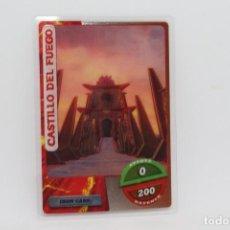 Trading Cards: GORMITI ACTION CARDS DE PANINI - Nº 177 CASTILLO DEL FUEGO. Lote 222282388