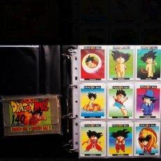 Trading Cards: DRAGÓN BALL COLECCIÓN COMPLETA EDICIONES ESTE. Lote 222294283