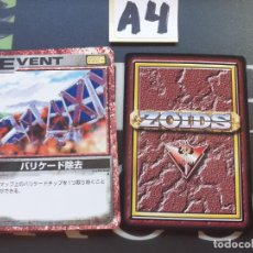 Trading Cards: CARDS ZOIDS TOMY 1999. Lote 222336662