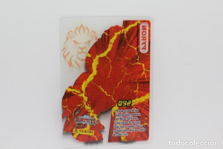 Trading Cards: GORMITI ACTION CARDS DE PANINI - Nº 092 PYRON - Foto 2 - 222374492