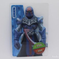 Trading Cards: GORMITI ACTION CARDS DE PANINI - Nº 041 ORION. Lote 222374863