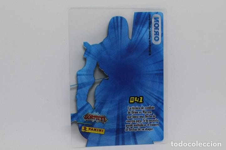 Trading Cards: GORMITI ACTION CARDS DE PANINI - Nº 041 ORION - Foto 2 - 222374863