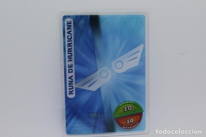 GORMITI ACTION CARDS DE PANINI - Nº 166 RUNA DE HURRICANE (Coleccionismo - Cromos y Álbumes - Trading Cards)
