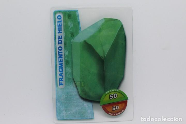 GORMITI ACTION CARDS DE PANINI - Nº 139 FRAGMENTO DE HIELO (Coleccionismo - Cromos y Álbumes - Trading Cards)