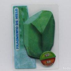 Trading Cards: GORMITI ACTION CARDS DE PANINI - Nº 139 FRAGMENTO DE HIELO. Lote 222375217