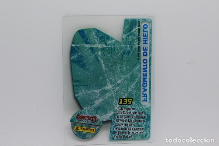 Trading Cards: GORMITI ACTION CARDS DE PANINI - Nº 139 FRAGMENTO DE HIELO - Foto 2 - 222375217