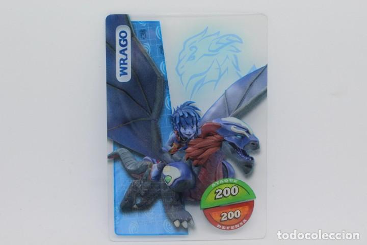 GORMITI ACTION CARDS DE PANINI - Nº 095 WRAGO (Coleccionismo - Cromos y Álbumes - Trading Cards)