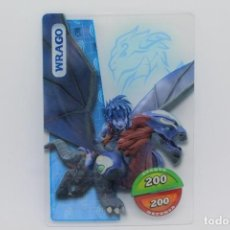 Trading Cards: GORMITI ACTION CARDS DE PANINI - Nº 095 WRAGO. Lote 222375540