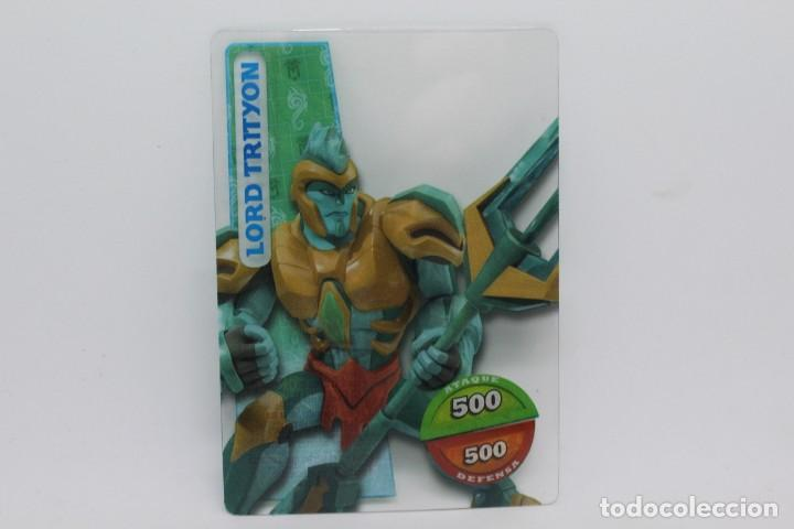 GORMITI ACTION CARDS DE PANINI - Nº 085 LORD TRITYON (Coleccionismo - Cromos y Álbumes - Trading Cards)