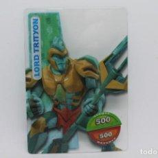 Trading Cards: GORMITI ACTION CARDS DE PANINI - Nº 085 LORD TRITYON. Lote 222375650