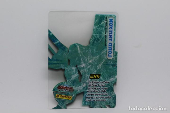 Trading Cards: GORMITI ACTION CARDS DE PANINI - Nº 085 LORD TRITYON - Foto 2 - 222375650