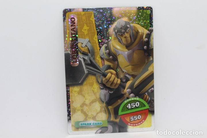 GORMITI ACTION CARDS DE PANINI - Nº 080 LORD TITANO (Coleccionismo - Cromos y Álbumes - Trading Cards)
