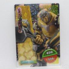 Trading Cards: GORMITI ACTION CARDS DE PANINI - Nº 080 LORD TITANO. Lote 222375726