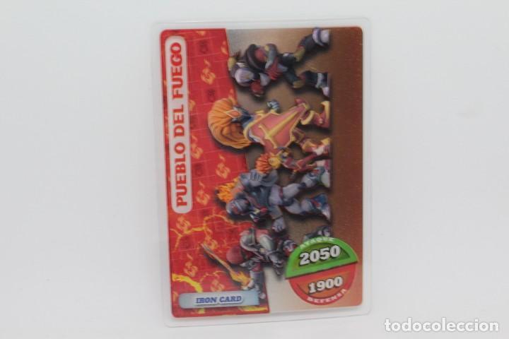 GORMITI ACTION CARDS DE PANINI - Nº 103 PUEBLO DEL FUEGO (Coleccionismo - Cromos y Álbumes - Trading Cards)