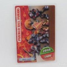 Trading Cards: GORMITI ACTION CARDS DE PANINI - Nº 103 PUEBLO DEL FUEGO. Lote 222376238