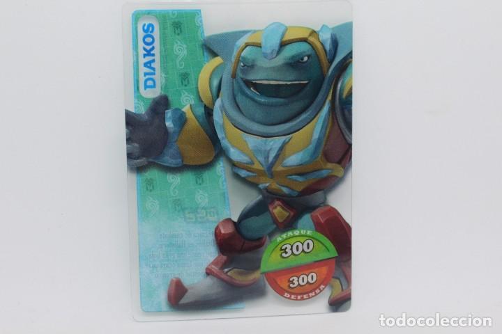 GORMITI ACTION CARDS DE PANINI - Nº 062 DIAKOS (Coleccionismo - Cromos y Álbumes - Trading Cards)
