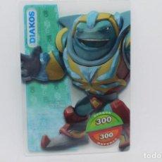 Trading Cards: GORMITI ACTION CARDS DE PANINI - Nº 062 DIAKOS. Lote 222376528