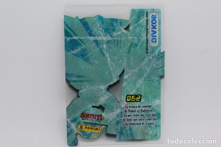 Trading Cards: GORMITI ACTION CARDS DE PANINI - Nº 062 DIAKOS - Foto 2 - 222376528